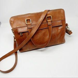 I Medici Firenze Convertible Leather Satchel